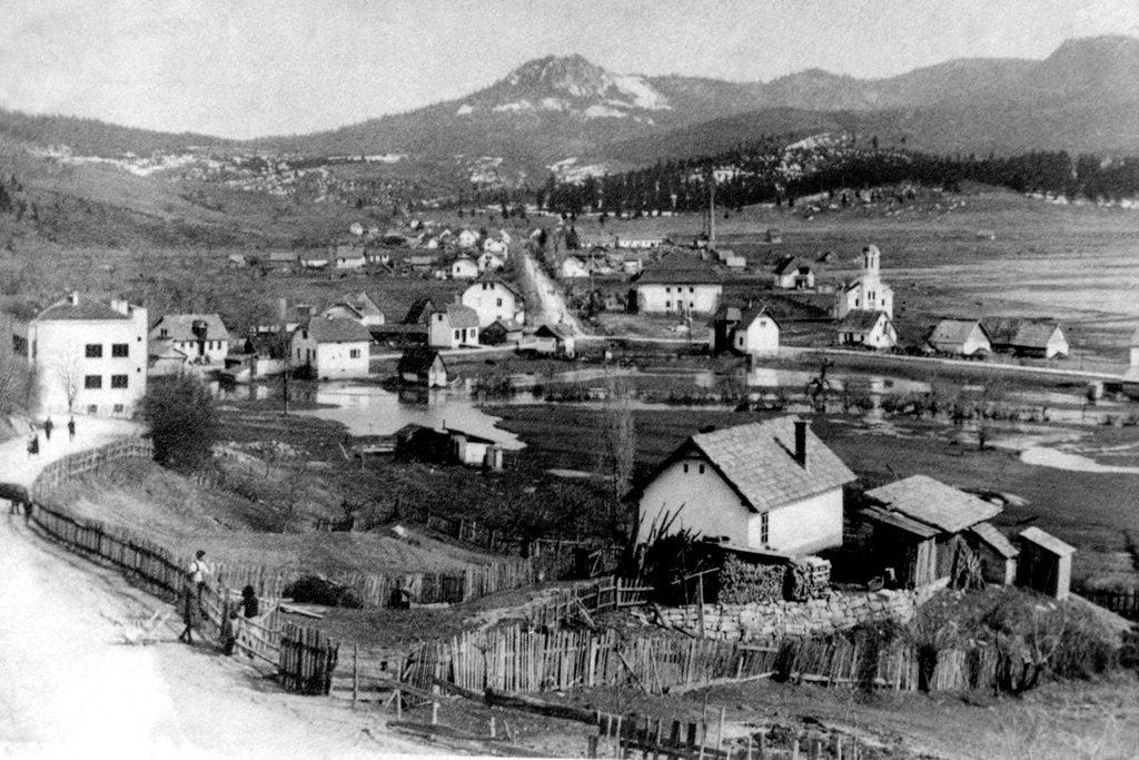 Панорама Пала из доба Краљевине Срба Хрвата и Словенаца